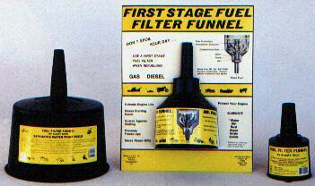 MR FUNNEL WITH 1 FILTER, large volume flow rate suitable for aircraft use